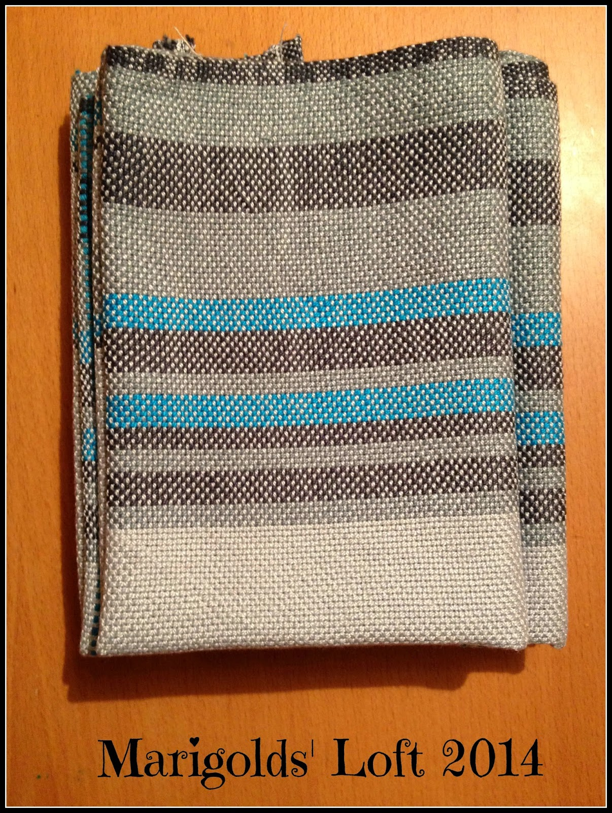 hand towel rigid heddle