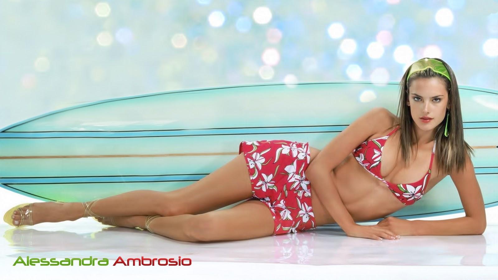 Alessandra Ambrosio Styles HD Wallpaper