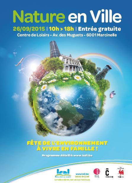 Cartonline septembre 2015 for La nature en ville