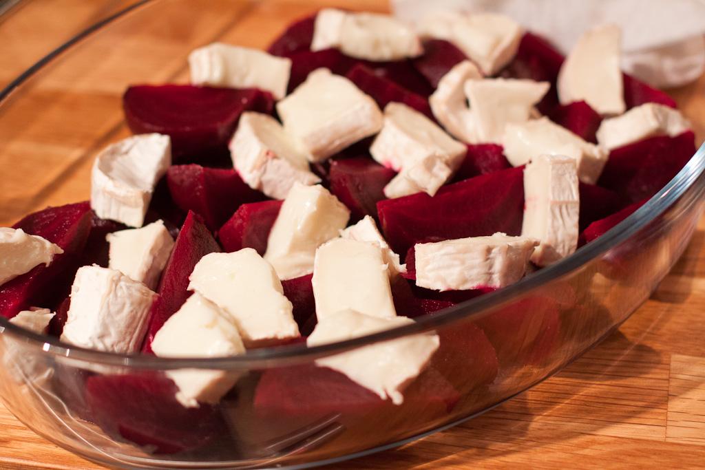 kokta rödbetor i ugn
