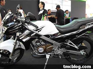 Kawasaki Ninja 150 L / R White Edition