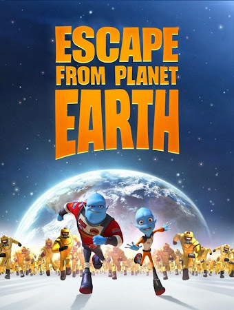 Poster Of Escape from Planet Earth 2013 In Hindi Bluray 720P Free Download