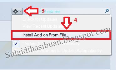 Cara Agar IDM Compatible Dengan Browser Mozilla Firefox