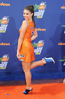 Kira Kosarin in basketball jersey-inspired dress - 2015 Nickelodeon Kids' Choice Sports Awards in Los Angeles