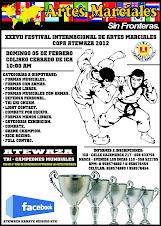 """XXXVII Festival Internacional de Artes Marciales Copa """"ATEWAZA"""" 2012"""