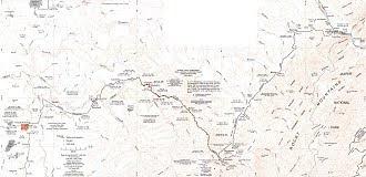 Alberta Resources Railroad map.