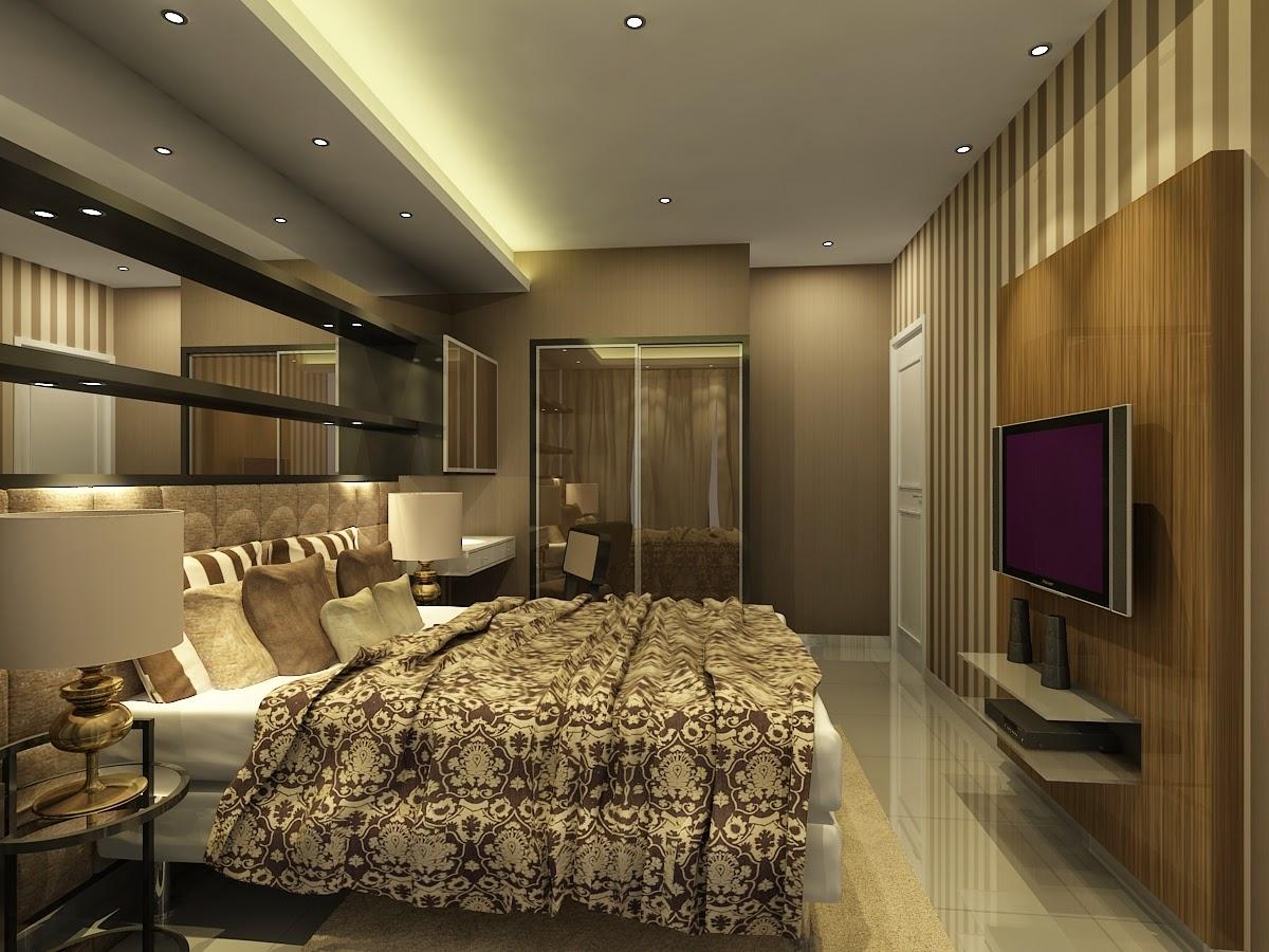 Desain interior apartemen type studio modern terbaru mei for Interior apartemen studio