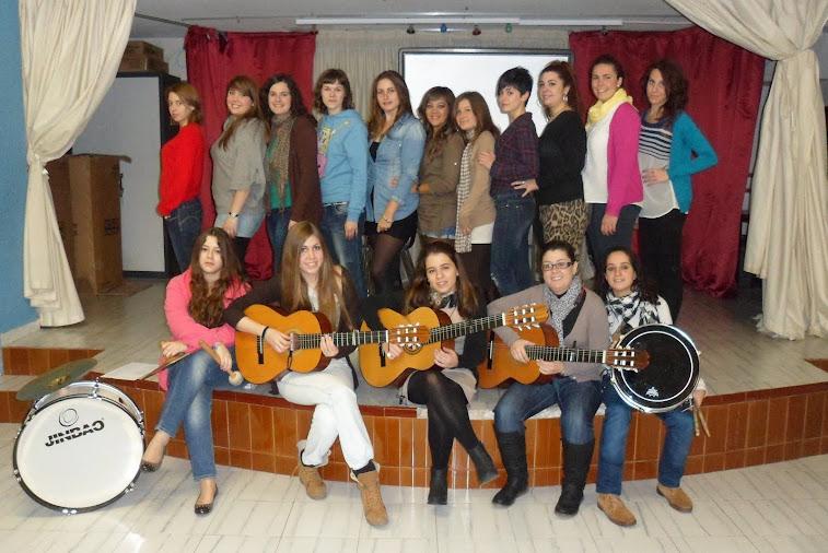 Comparsa femenina de Jaén