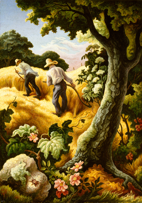 Works Of Art Painted By Painter Grant Wood