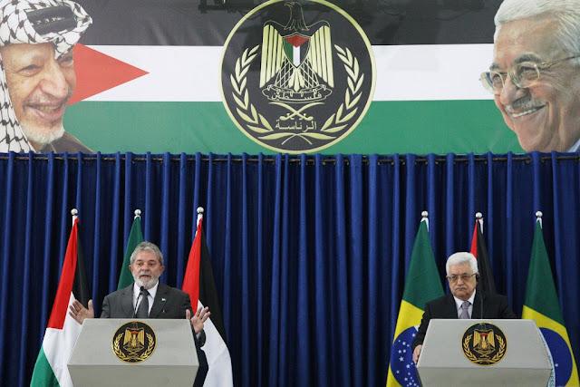 Presidente Lula e Presidente Mahmud Abbas (Abu Mazen)