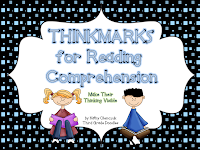 http://www.teacherspayteachers.com/Product/Thinkmarks-for-Reading-Comprehension-643773