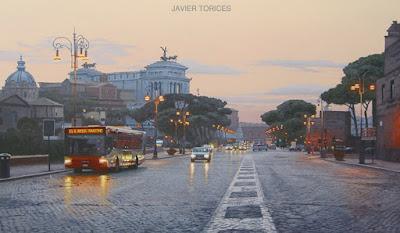 Paisajes Madrilenos Cuadros Urbanos Oleos