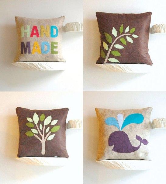 HandMadera Pillow Decoration Ideas