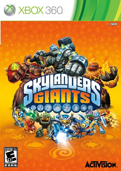Skylanders Giants Xbox 360 Regin Free Espaol 2012 