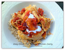 Easy Crock-Pot Tomato Chicken Curry