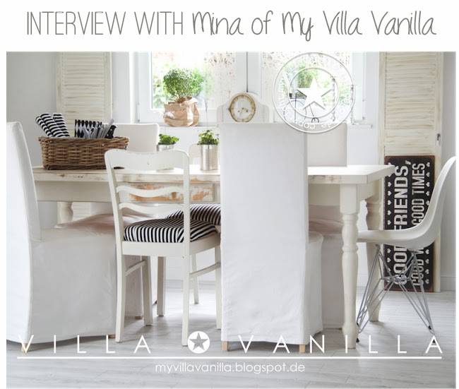 Interview with the stylist mina del blog my villa for Mia villa wohnen