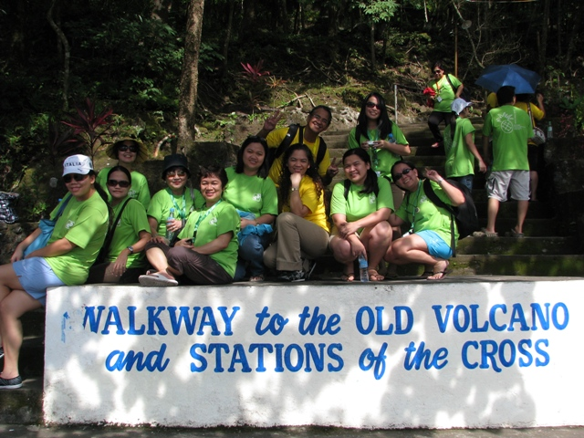 Walkway to the Old Volcano and Stations of the Cross Camiguin Island, CAMIGUIN ISLAND ATTRACTIONS