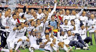 Real Madrid recibió el premio de la Copa del Rey