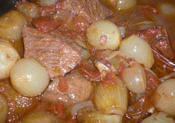 Griechische kuche stifado