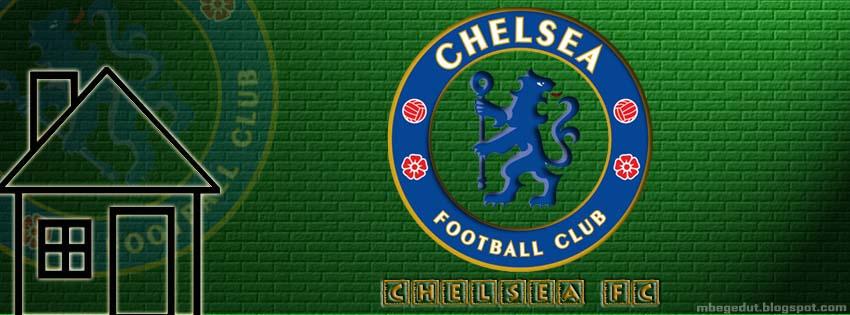 Chelsea FC Facebook Cover Green Brick ( download )