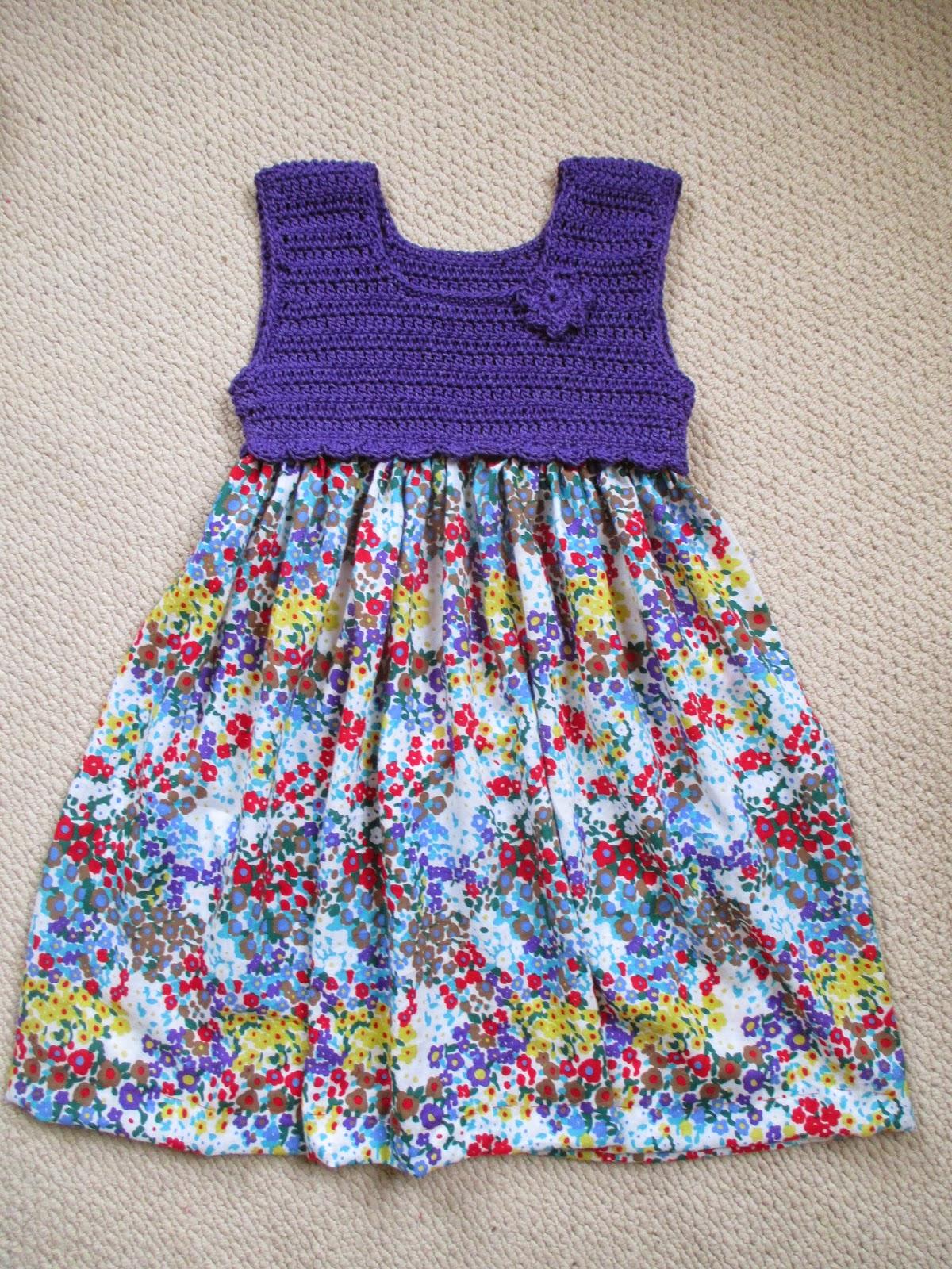 Three Stories High: FREE Crochet dress Tutorial