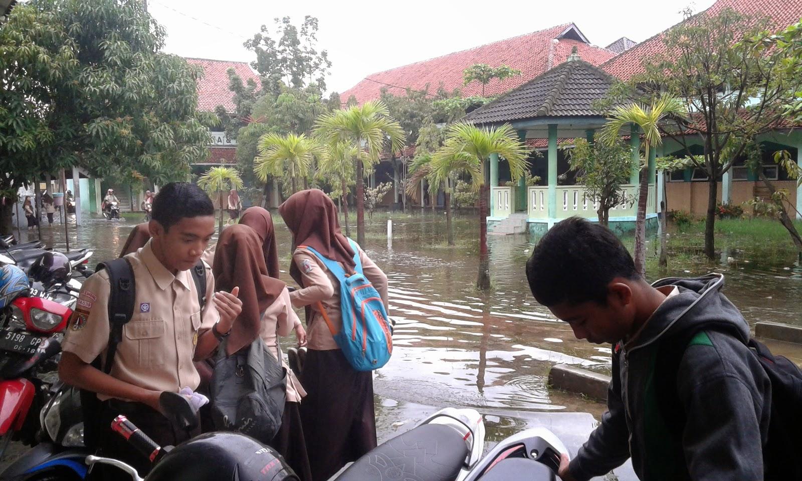 MAN 1 Semarang Imersi Kebanjiran