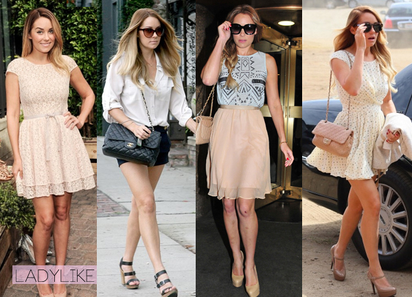 lauren conrad look outfits style