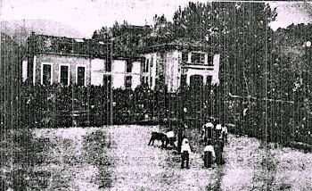 TOROS EN SOTRONDIO (ASTURIAS) 10/1924