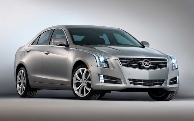 Silver 2013 Cadillac ATS