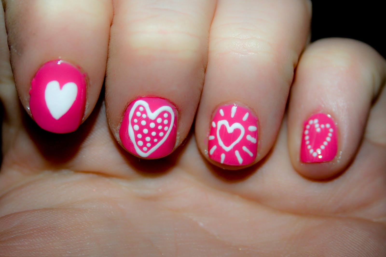 Nail designs hearts nail art designs img3487 prinsesfo Choice Image