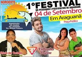 1º Festival do Pescador e Piscicultor