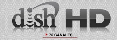 paquete dish hd con 75 canales