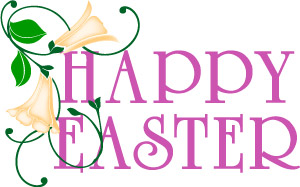 Happy Easter Religious Clip Art