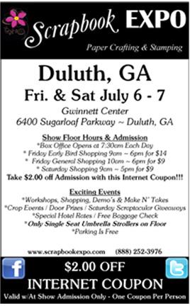 Scrapbook expo coupon code