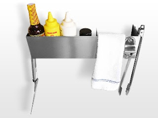 Stainless Steel Bar Caddy