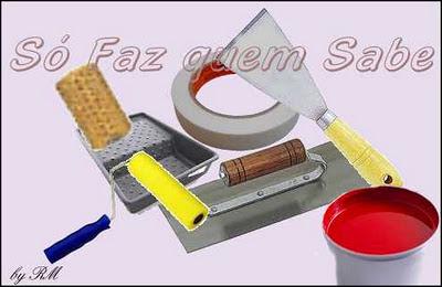 Materiais e ferramentas necessárias para execução de textura em paredes