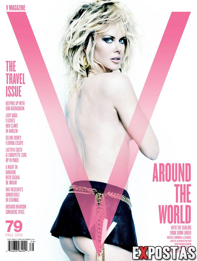 Nicole Kidman: V magazine #79 - Setembro 2012