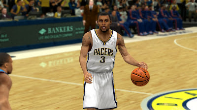 NBA 2K13 George Hill Cyberface 2K Patch