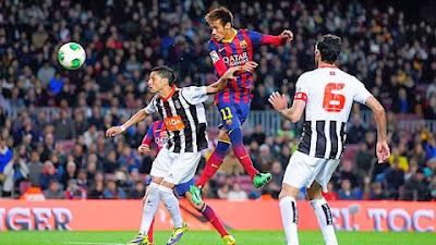 Xem lại đầy đủ trận Barcelona vs Cartagena