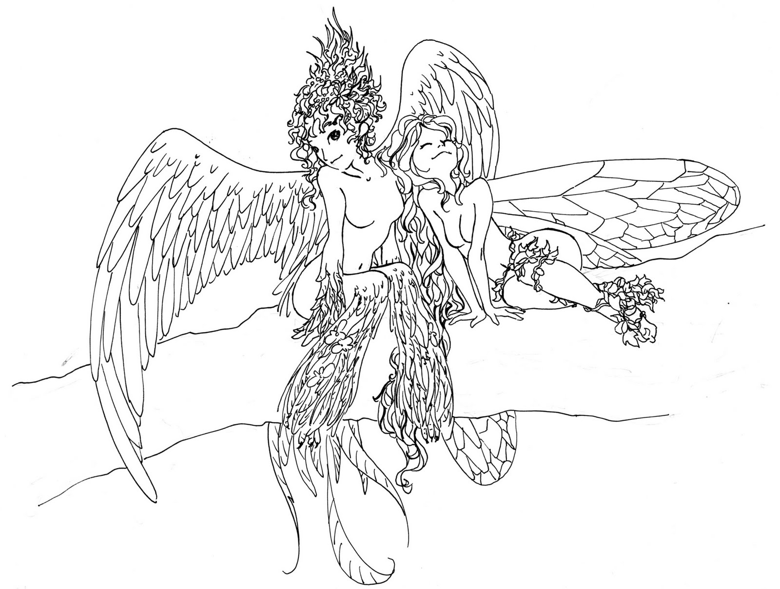 naked coloring pages for adults only - photo #50