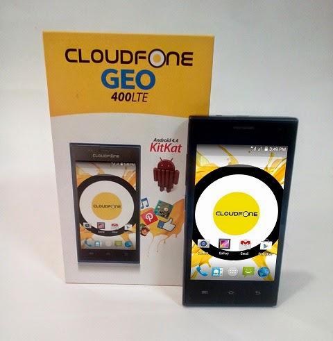 CloudFone GEO 400LTE Retail Box