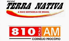 Rádio Terra Nativa AM de Cornélio Procópio PR ao vivo