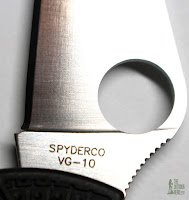 Spyderco Manbug EDC Pocket Knife - Blade 2