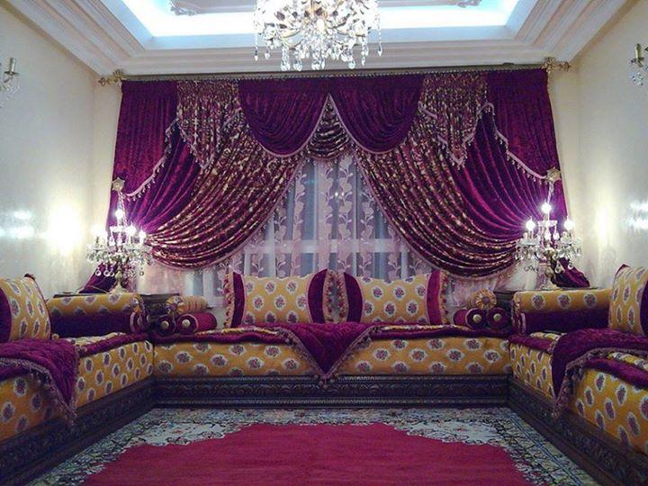 Cosas de marruecos salones estilos marroqu es - Telas marroquies ...