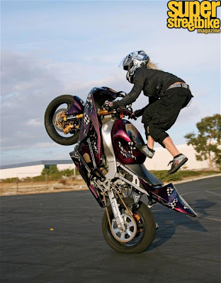 Lady Freestyle Motor Dunia