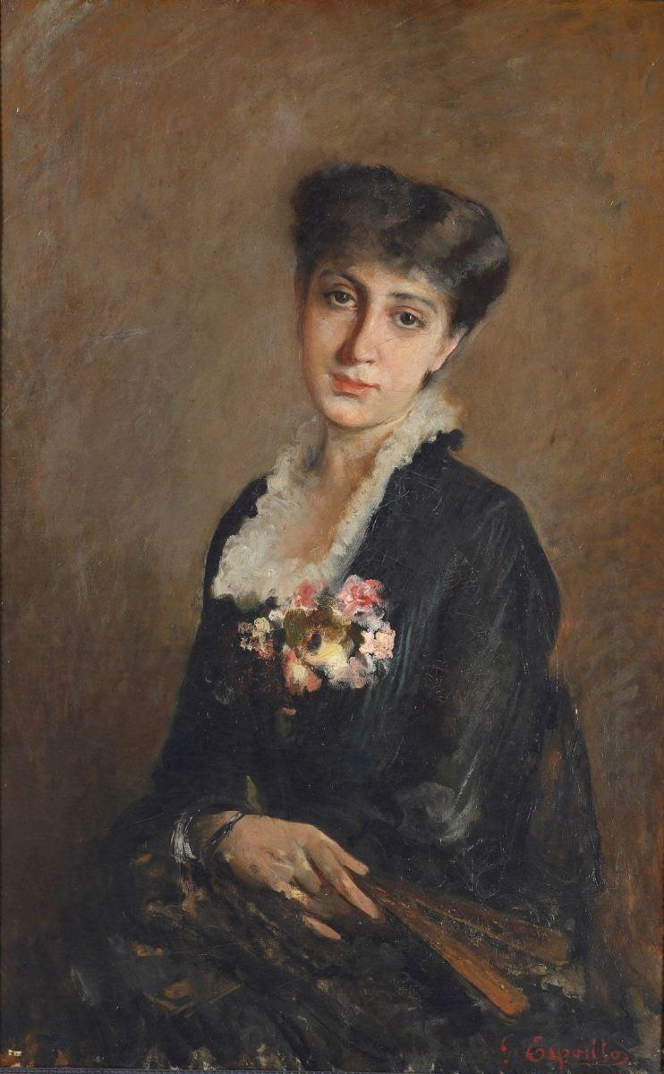 Gaetano Esposito Ritratto della Fidanzata