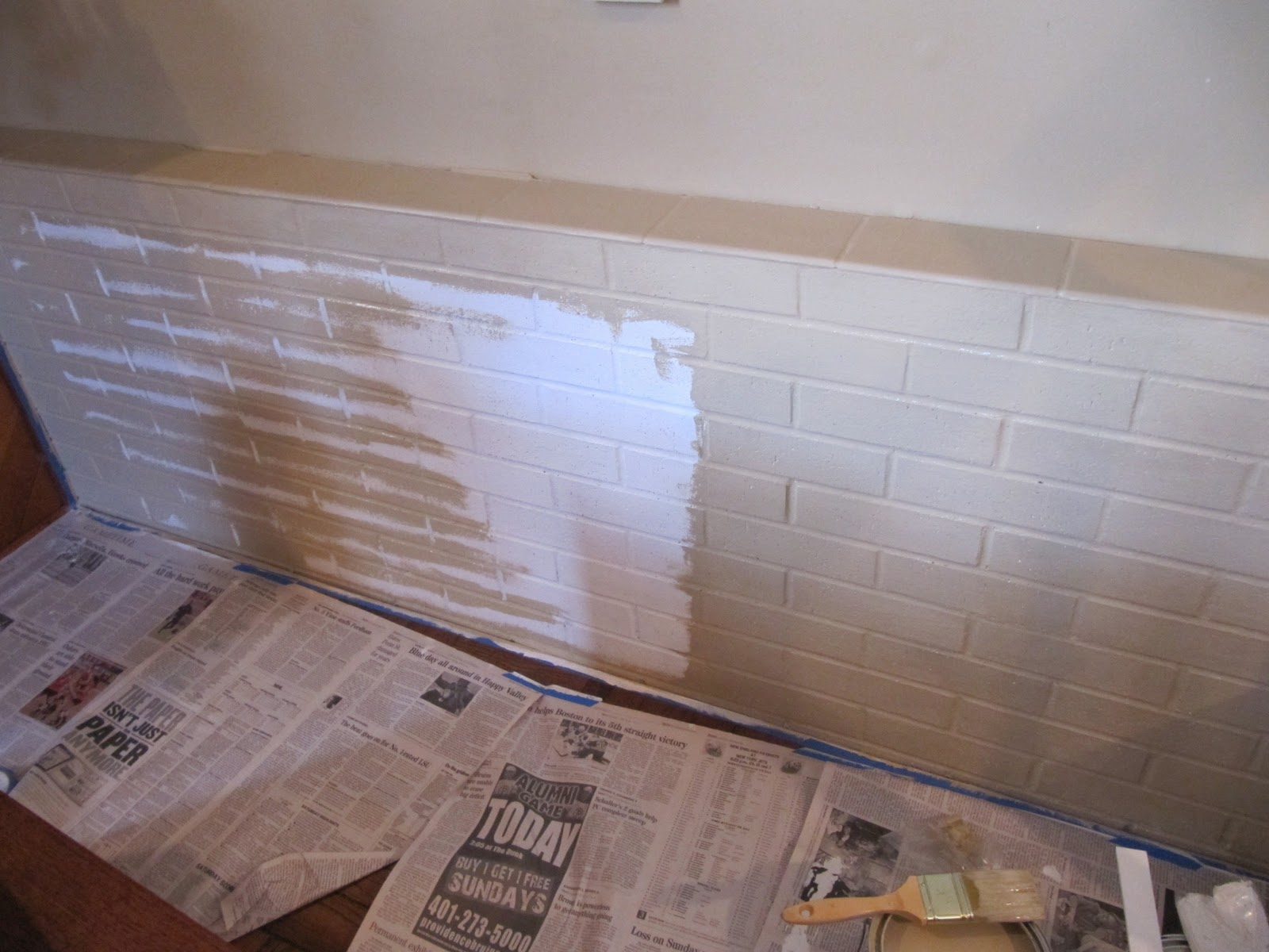 painting brick cool how to paint brick with painting brick