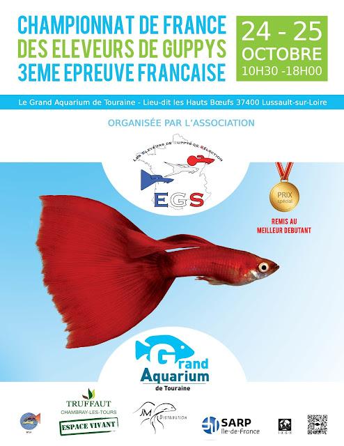 24-25 Octobre 2015 : Exposition & Concours National de Guppys de Sélection