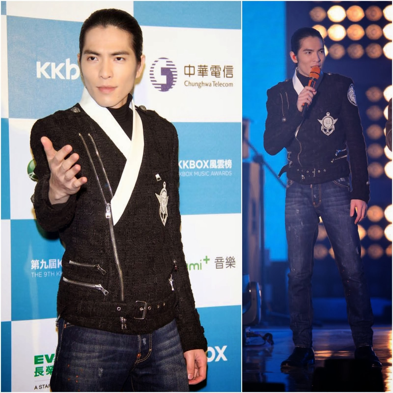 Jam Hsiao [萧敬腾] in Balmain - 9th Annual KKBOX Awards [第九届KKBOX风云榜]