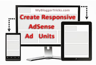 Create Responsive AdSense Ad Units